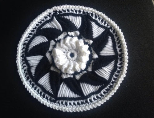 Black and white Mandala per Abilmente
