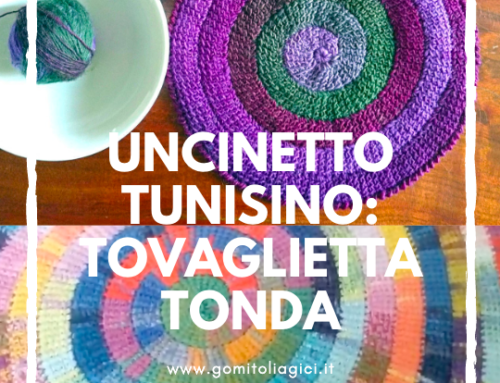Uncinetto tunisino…in tondo !